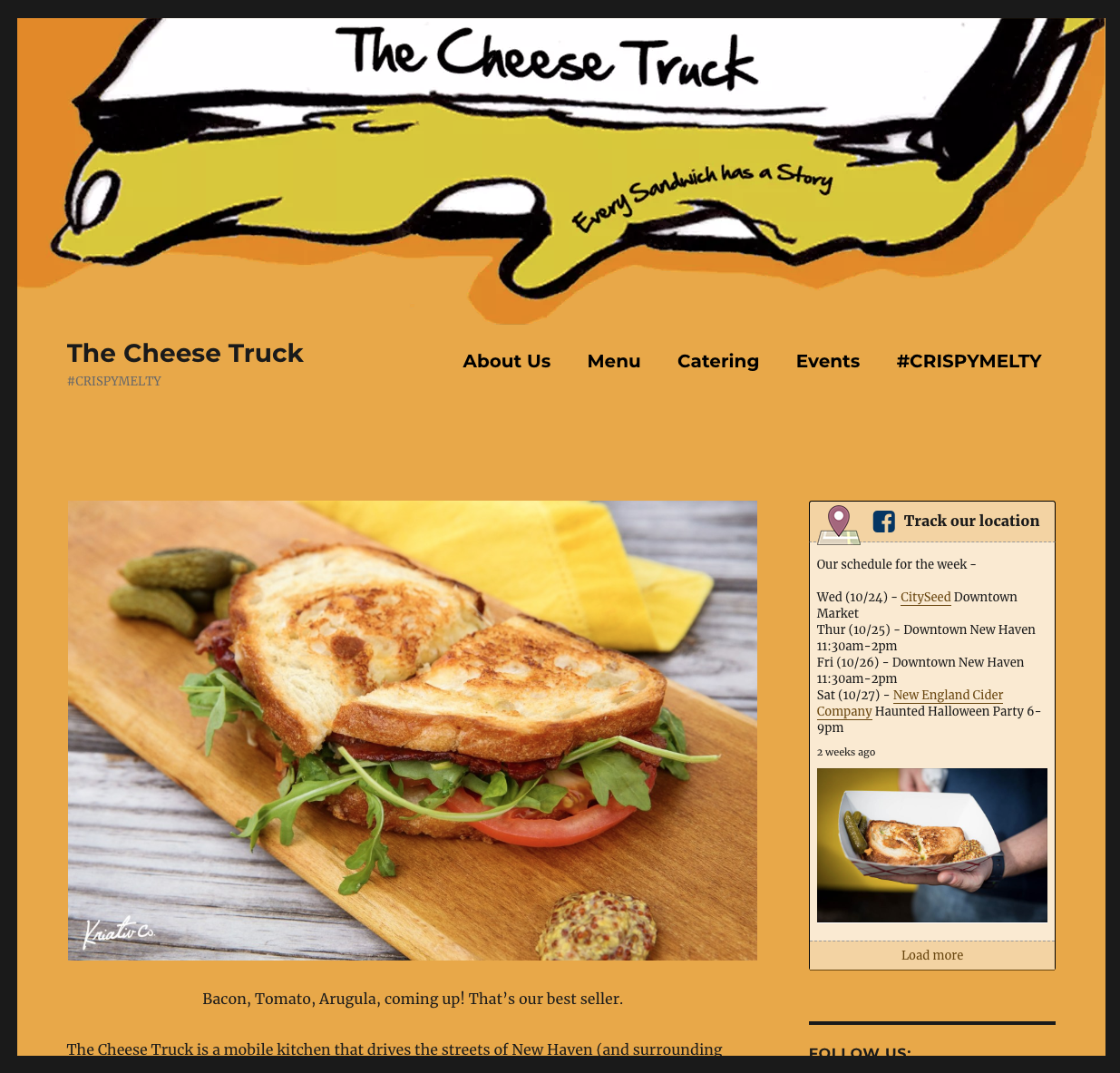 The Cheese Truck Home