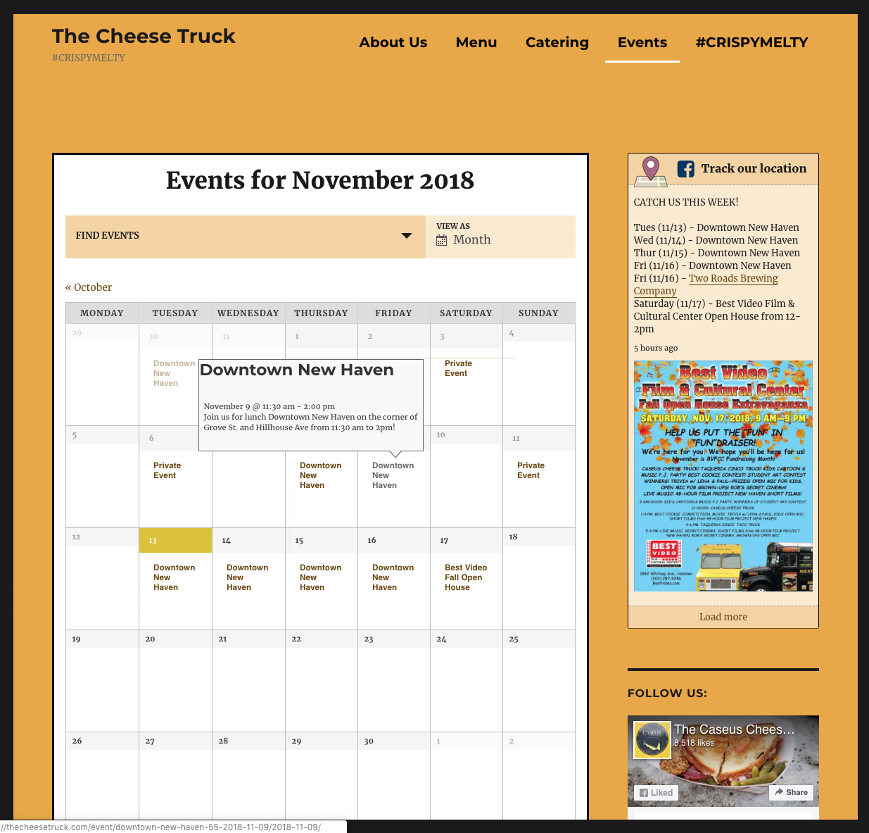 The Cheese Truck Events